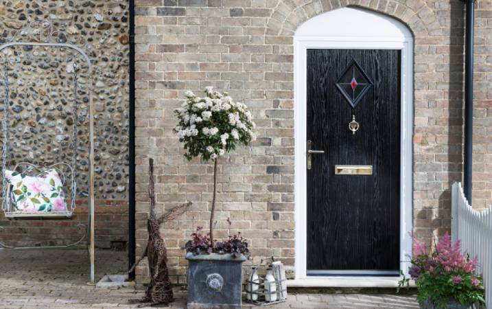 Why should you consider a black front door?